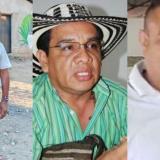 Tres de los indígenas amenazados en Sucre y Córdoba.