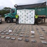 Cayó cargamento de cocaína en carretera de La Guajira cerca de Hatonuevo