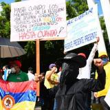 En video   Normalidad en marchas durante jornada de paro nacional