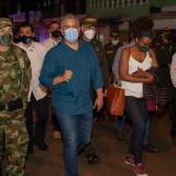 """""""Vino a darle una vuelta al malecón"""": soldado critica visita de Duque a Chocó"""
