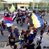 Indígenas se tomaron el aeropuerto El Dorado en nuevas protestas