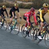 Primoz Roglic sigue como líder de la Vuelta a España tras tres etapas completas.