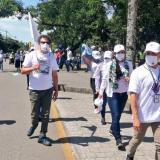 Excombatientes de Farc llegaron este viernes a Villavicencio