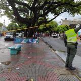 Rayo mató a una niña en Valledupar