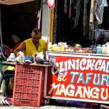 Un trabajador informal en Barranquilla.