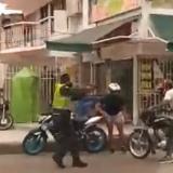 En video   Atraco, bala y captura en el barrio El Carmen