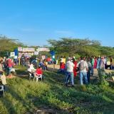 Comunidades wayuu cierran el basurero de Riohacha