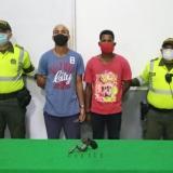 Capturan a dos sujetos por el delito de porte ilegal de armas de fuego