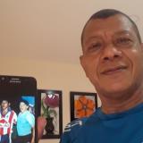 Didí Valderrama guarda con mucho aprecio la foto que tiene con Diego Armando Maradona.