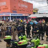 Mototaxistas en Riohacha salieron con caravanas en pleno toque de queda
