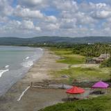 Vista panorámica del sector Palmarito, ubicado en el municipio de Tubará. En la zona hay denuncias por ocupación indebida de bienes de uso público.