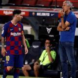 """""""Hay jugadores que no son fáciles de gestionar, entre ellos Messi"""": Setién"""