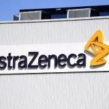 Fachada de la gigante farmacéutica AstraZeneca.