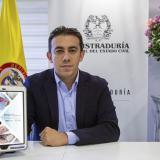 Alexander Vega Rocha, registrador Nacional.
