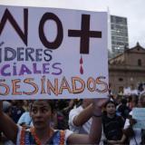 Violencia deja 95 líderes asesinados en primer semestre del año en el país