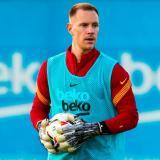 El arquero alemán volverá a la acción con el FC Barcelona.