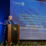 """""""Investigación por crimen de Álvaro Gómez debe llegar a la verdad real"""""""