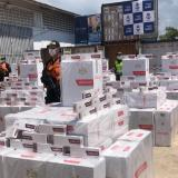 Cae millonario cargamento de cigarrillos de contrabando en Cartagena
