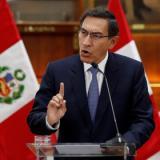 El Congreso peruano destituye al presidente Martín Vizcarra