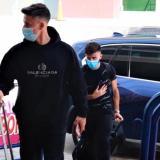 Brian Rodríguez y Diego Rossi, que juegan en Los Ángeles FC, de la MLS, arribaron a Barranquilla.