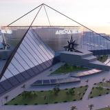 Render oficial del aspecto del megaproyecto Arena del Río.