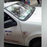 Usuario con 26 facturas pendientes de pago atacó vehículo de Air-e
