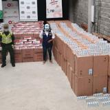 Millonario decomiso de cigarrillos de contrabando en Córdoba