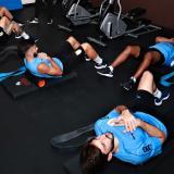 La Selección de Uruguay arribó en su mayoría a Barranquilla entre lunes y martes.