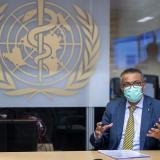 El director general de la OMS, Tedros Adhanom Ghebreyesus.