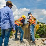 Control Urbano demuele otra construcción ilegal