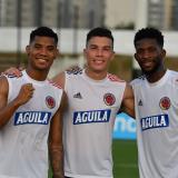 """No me acostumbro a jugar sin público"": Mateus Uribe"