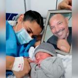 Dos meses después del fallecimiento de Ricardo Ciciliano, nace su hijo