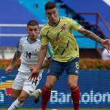 """Uruguay fue contundente"": Mateus Uribe"