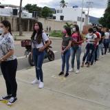 Colombia recibe alumnos que pasan frontera con Venezuela para Prueba Saber 11