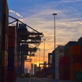 El puerto de Cartagena es una de los principales puntos de las exportaciones colombianas a Venezuela.
