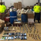 Desarticulan banda dedicada al tráfico de licor adulterado en el Atlántico