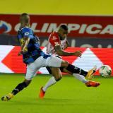 Fredy Hinestroza fue uno de los puntos altos en la victoria de Junior sobre Boyacá Chicó.