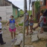 Avanza monitoreo de damnificados de Cartagena por paso de Iota