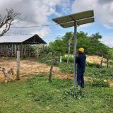 Brisas, Sucre, pasó de los mechones a la energía solar