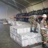 Zarpa hacia Providencia buque con 15 toneladas de ayuda y 190 hombres