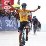 El ciclista barranquillero Nelson Soto se impuso el domingo en la tercera etapa y este lunes en la cuarta.
