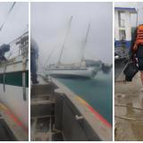 Armada rescata adulto mayor en altamar durante el paso de Iota por San Andrés