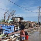 Providencia, en ruinas, será reconstruida