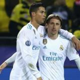Modric recuerda con Cristiano sus buenos tiempos en el Real Madrid