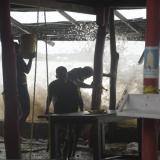 Dimar sigue inspeccionando playas afectadas por huracán Iota