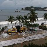 Activan protocolos para hacer frente a marejada ciclónica en Santa Marta