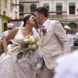 Ni el covid ni Iota vencen al amor: odisea de una pareja para casarse