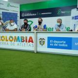 El evento para lanzar la edición 20/21 de la Liga Profesional de Béisbol contó con la presencia de Ernesto Lucena, ministro del deporte.