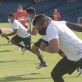 Gigantes empezó sus prácticas de cara a la temporada del Béisbol Profesional Colombiano