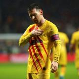 El número de goles de Lionel Messi hacia el Atlético es imponente: 32 goles en total.